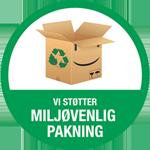 Vi støtter Miljøvenlig Pakning