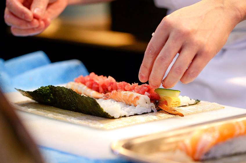 Sushi i Vejle